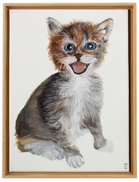Kitten Original Painting