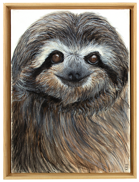 Sloth Original Painting