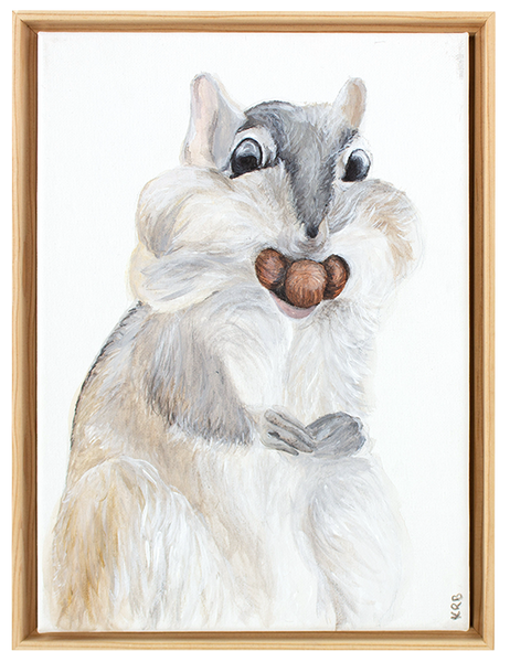 Squirrel Original Painting