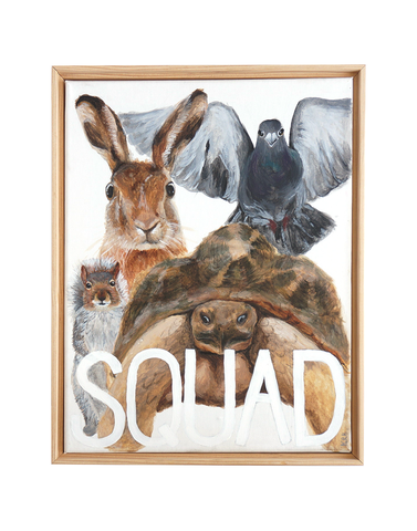 SQUAD Original Painting