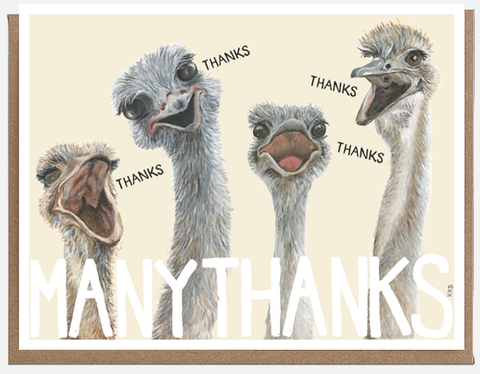 MANYTHANKS Card