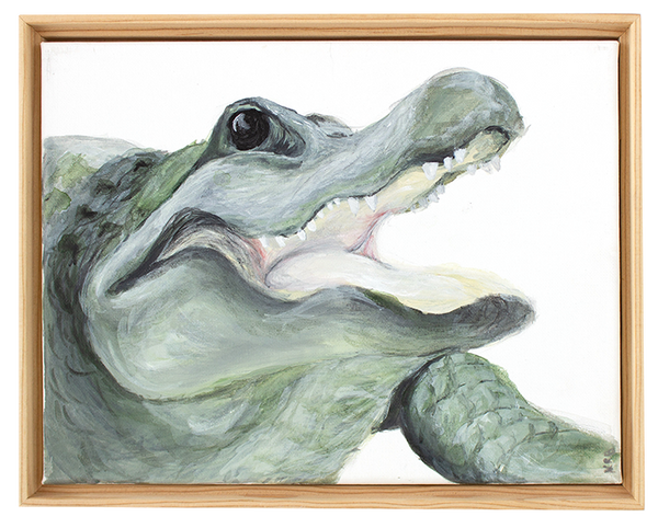 Alligator Original Painting