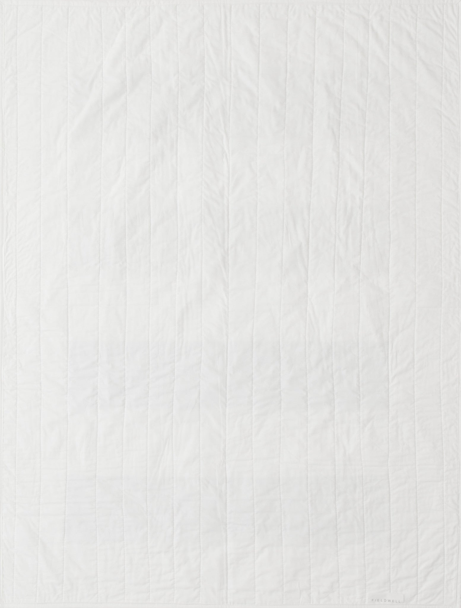 Rue Quilt in White