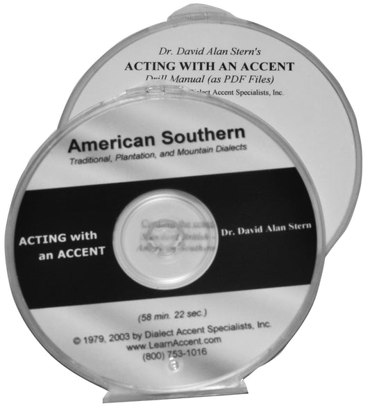 Acting with an Accent:  American Southern