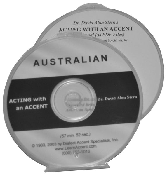 Acting with an Accent:  Australian
