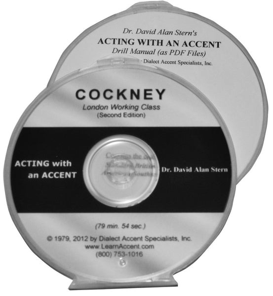 Acting with an Accent:  Cockney