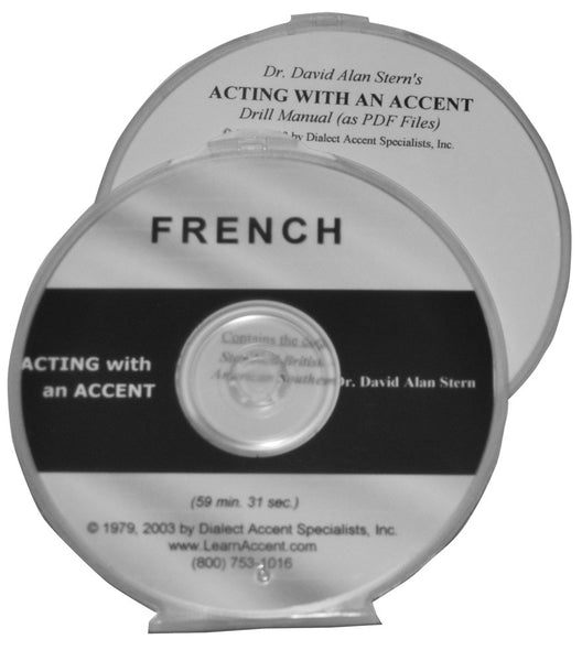 Acting with an Accent:  French
