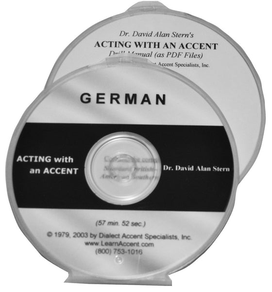 Acting with an Accent:  German