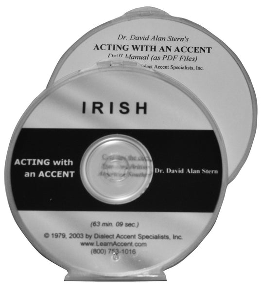 Acting with an Accent:  Irish