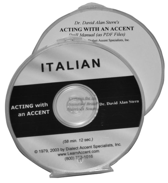 Acting with an Accent:  Italian