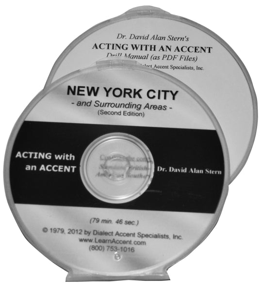 Acting with an Accent:  New York City