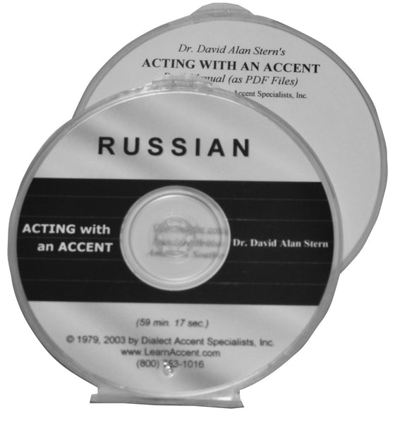 Acting with an Accent:  Russian