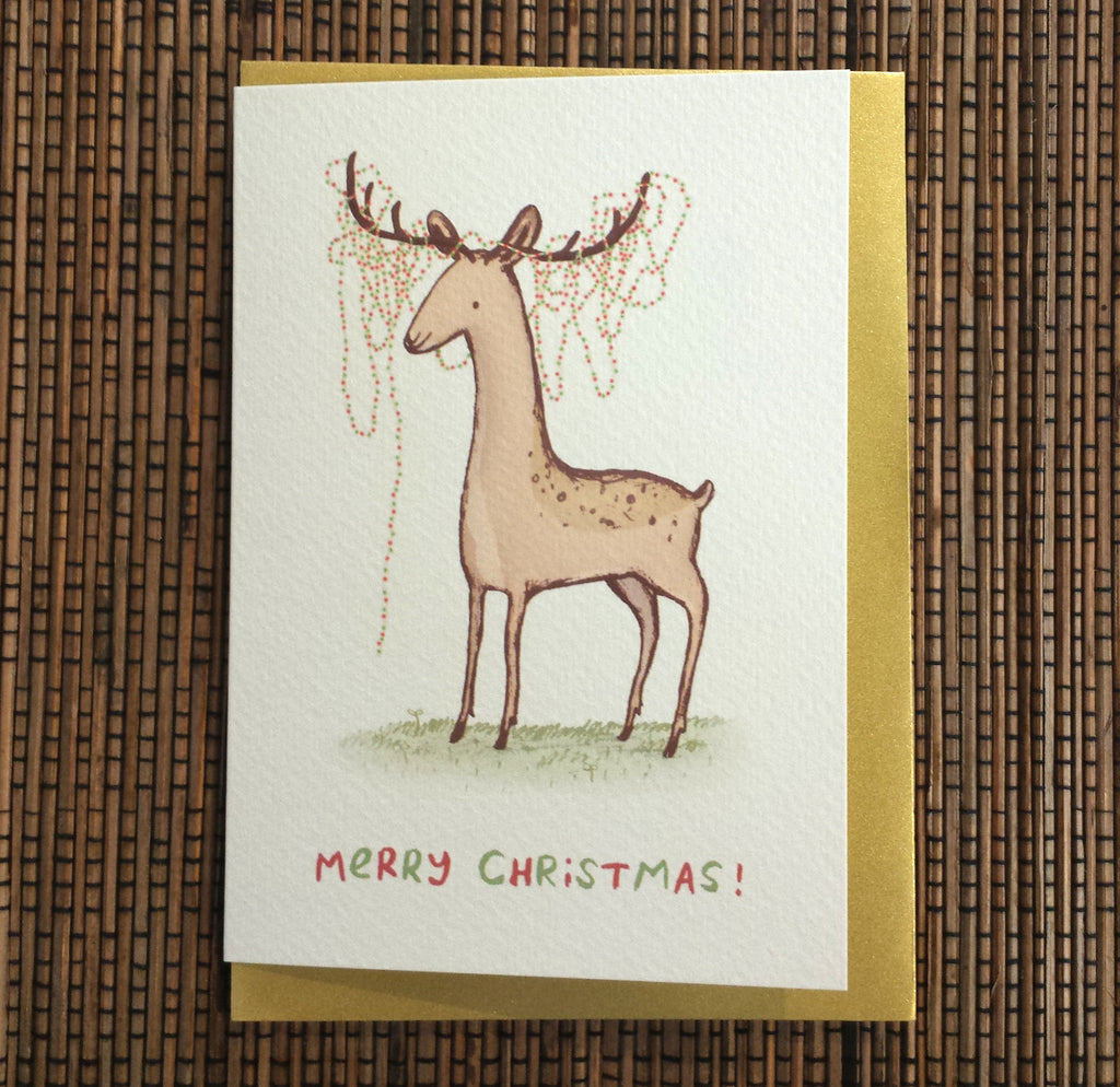 Christmas Deer Card