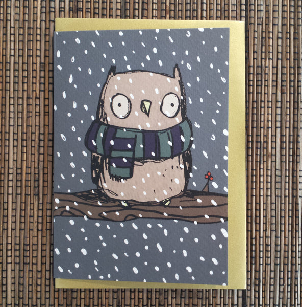 Chilly Owl Card