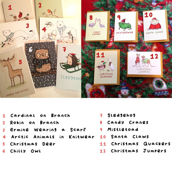 Christmas Card Set of 5