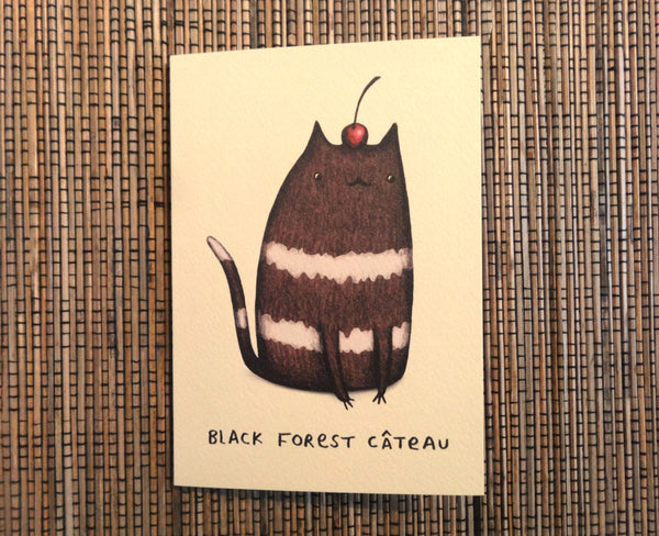 Black Forest Câteau Card