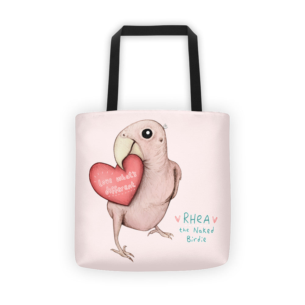 Rhea - Love What's Different Tote Bag