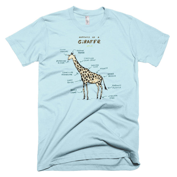 Anatomy of a Giraffe Men's T-Shirt