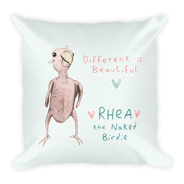 Rhea - Different is Beautiful Pillow