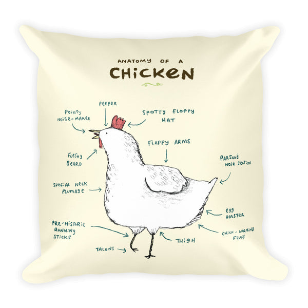 Anatomy of a Chicken Pillow