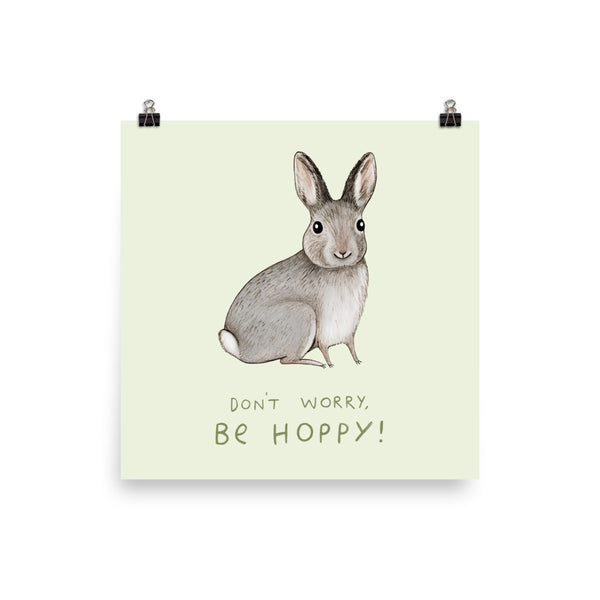 Don't Worry, Be Hoppy Poster