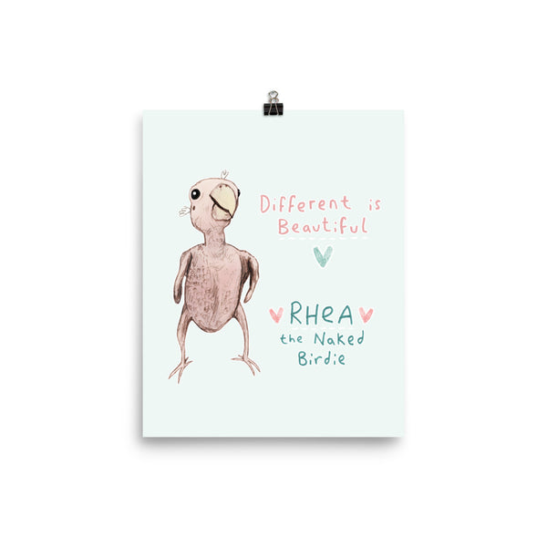 Rhea - Different is Beautiful Poster