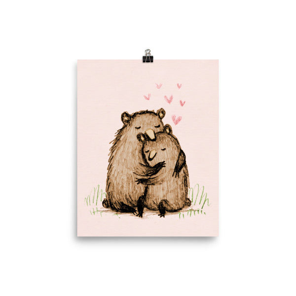 Bearlentines Poster