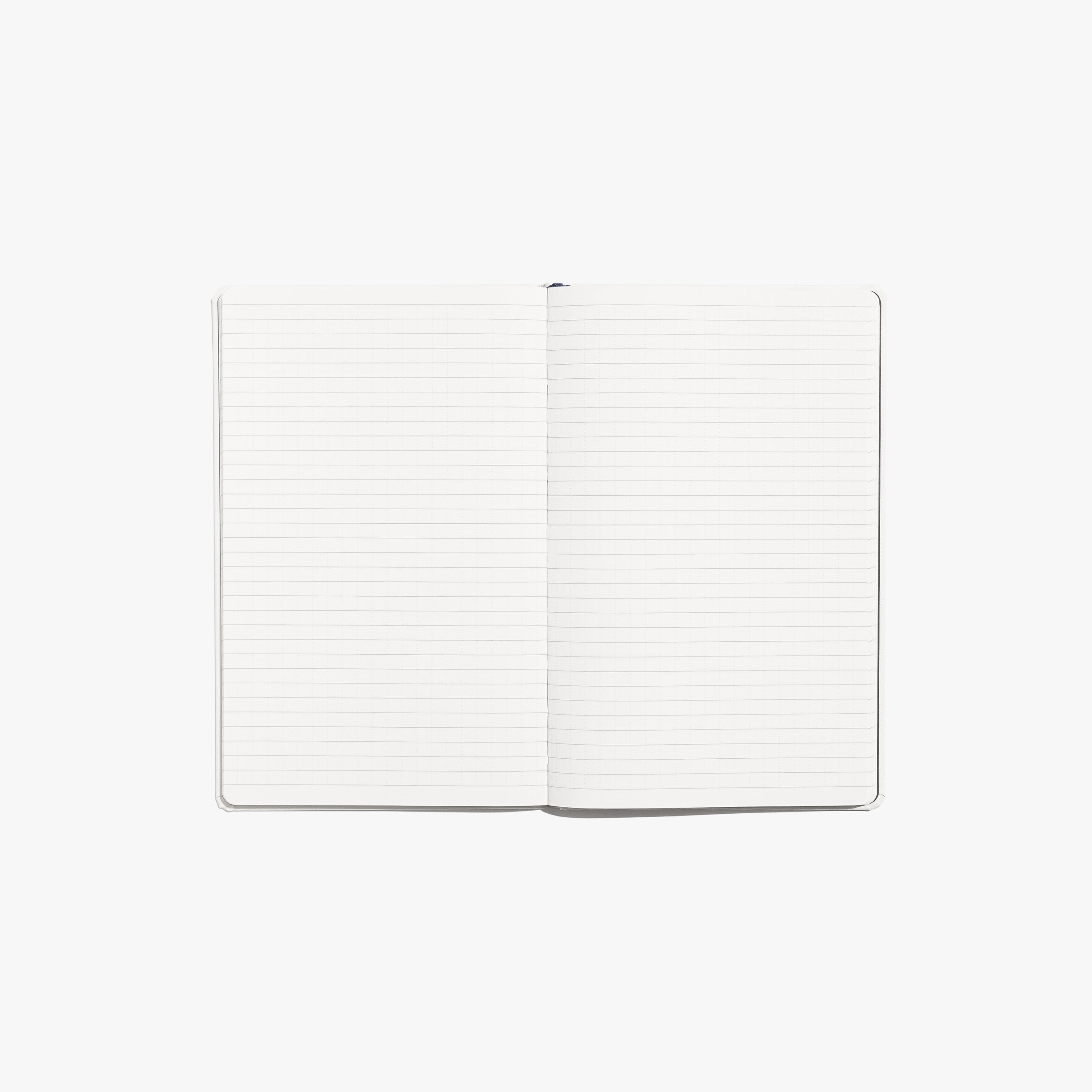 Construction Notebook - White