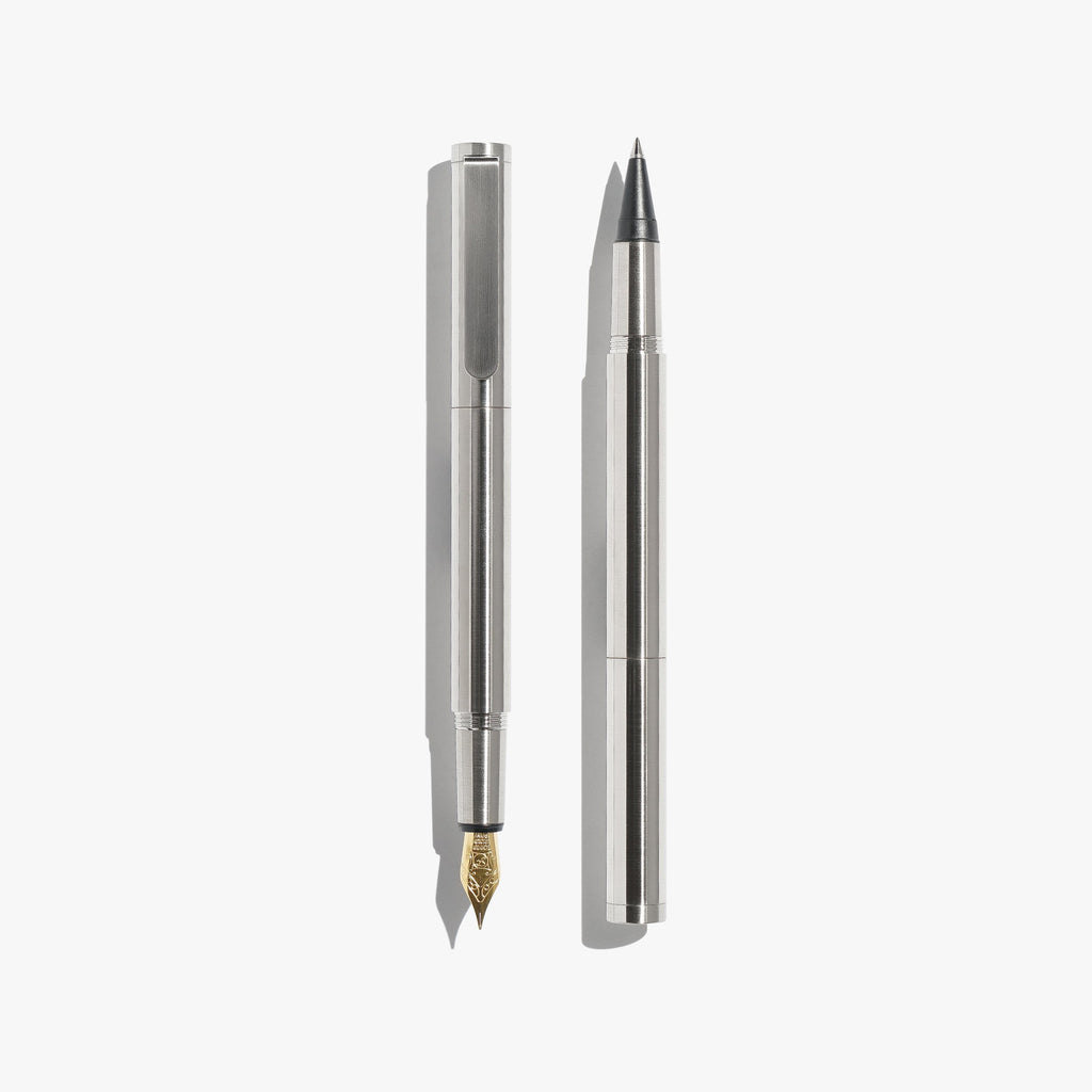Pocket Fountain Pen - Chrome
