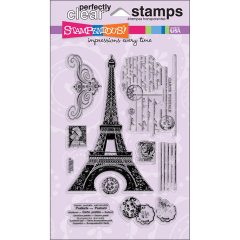 Stampendous Clear Stamp Eiffel Tower