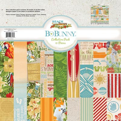 BoBunny Beach Therapy 12 x 12 Collection Pack