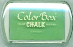 ColorBox Fluid Chalk Ink Pad-Lime Pastel