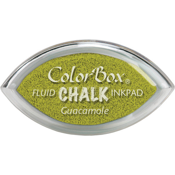 ColorBox Fluid Chalk Cat's Eye Ink Pad-Guacamole