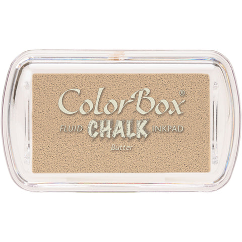 ColorBox Fluid Chalk Mini Ink Pad-Butter