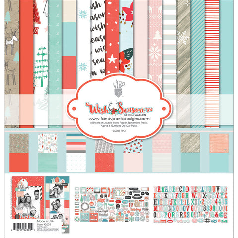 "Fancy Pants Designs Collection Kit 12""X12"" Wish Season"