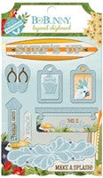 BoBunny Beach Therapy Layered Chipboard
