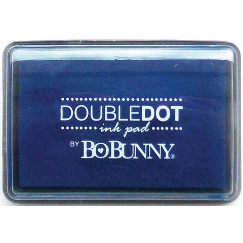BoBunny Double Dot Pigment Ink Pad Blueberry