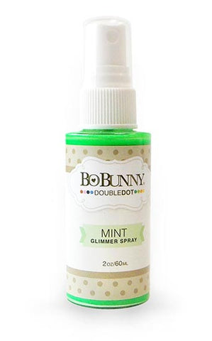 BoBunny Double Dot Glimmer Spray Mint