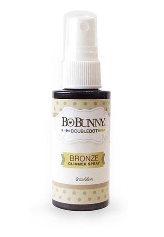 BoBunny Double Dot Glimmer Spray Bronze