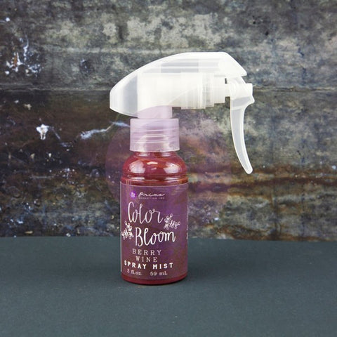 Prima Marketing Color Bloom Spray Berry Wine