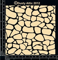 Dusty Attic Cobblestone Panel Small