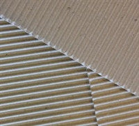Dusty Attic Corrugated Card