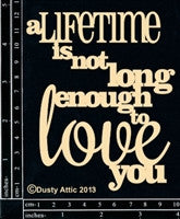 "Dusty Attic ""a Lifetime is...."""