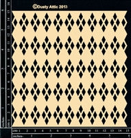 Dusty Attic Argyle Panel Small