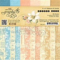 Graphic 45 Gilded Lily 6 x 6 Patterns & Solids
