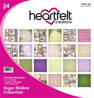 Heartfelt Creations Sugar Hollow 12x12 Paper Collection