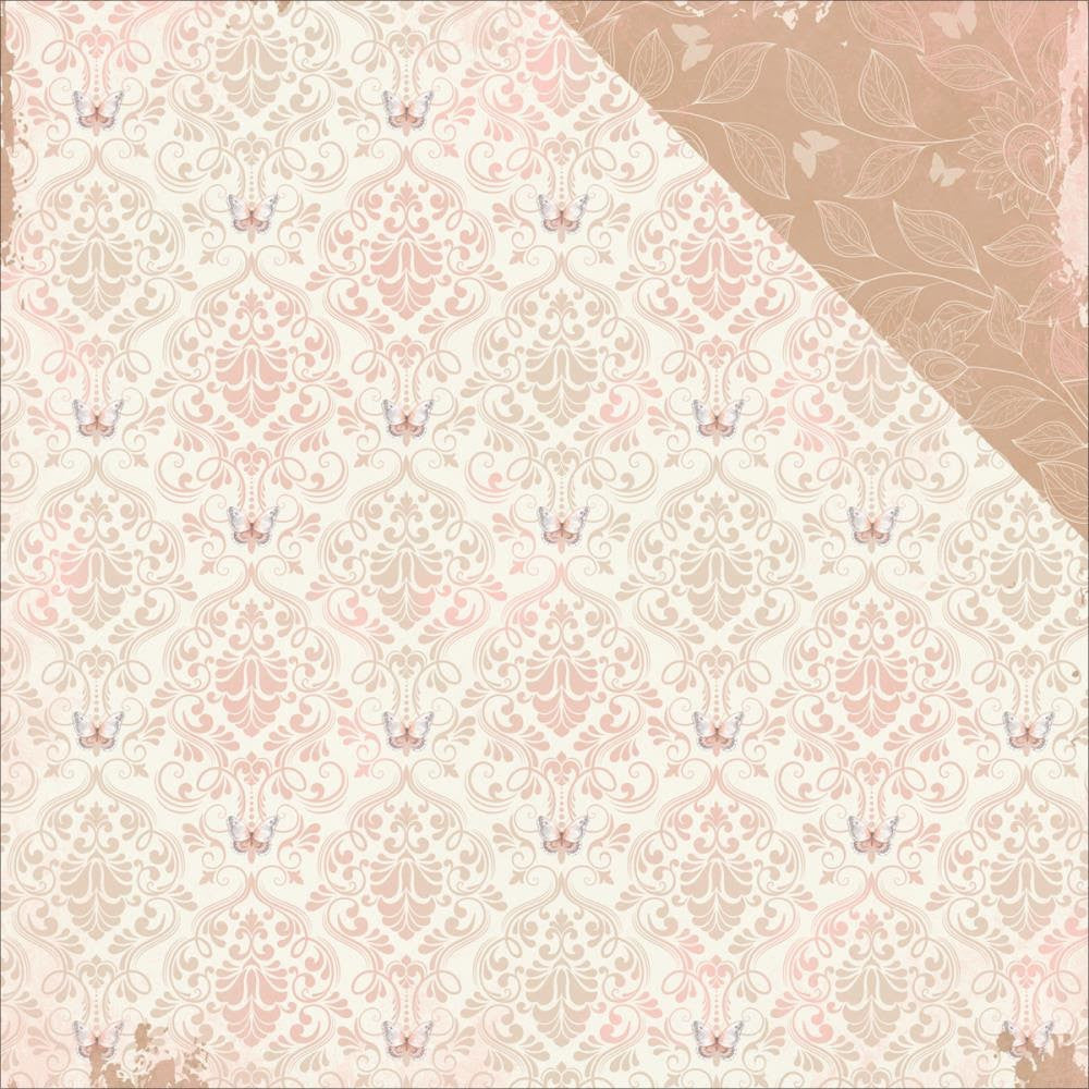 BoBunny Butterfly Kisses12 X 12 Double Sided Paper Breeze