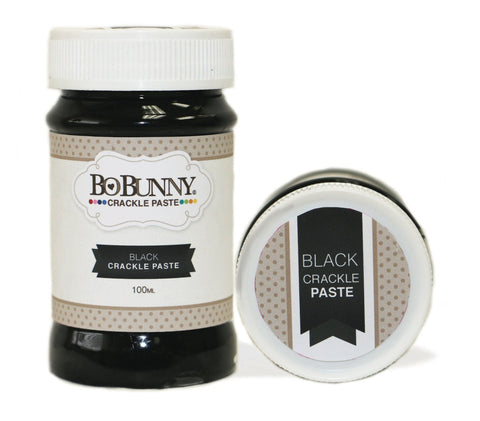 BoBunny Crackle Paste Black