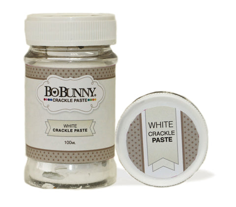 BoBunny Crackle Paste White