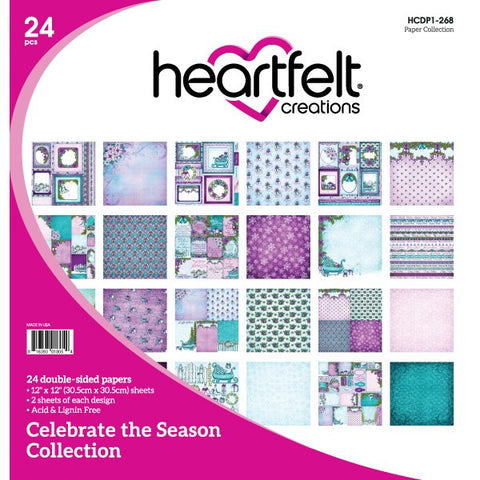 Heartfelt Creations Celebrate the Season 12 x 12 Paper Collection
